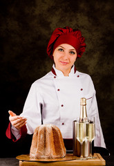 Chef presenta il menù di natale - capodanno