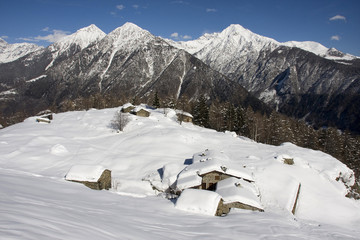 alpe Forcola: the day after snow