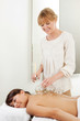 Professional Acupuncture Therapist Fire Cupping