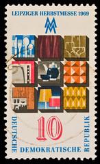 GERMANY - CIRCA 1969:  Leipziger Herbstmesse