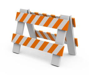 Die Straßenblockade