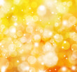 Glittery gold lights background