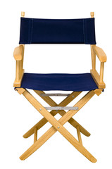 Director's Chair Isolated