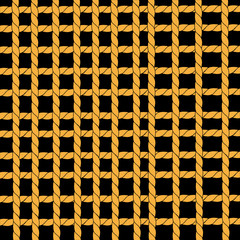 Vector detail of hammock - seamless background