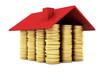 Haus aus Goldmünzen
