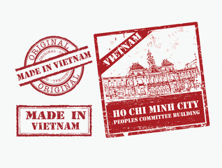 Made in Vietnam - Stamp