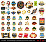 Modern and Vintage Emblems Extreme Collection.