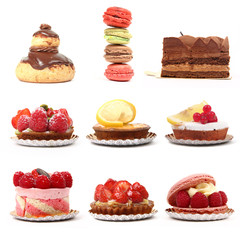 set patisseries