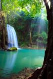 Fototapeta świeżość - tajlandia - Kaskada / Wodospad / Gejzer