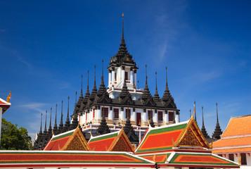 Loha Prasat, Metal palace in bangkok,Thailand