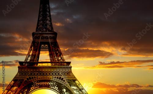 Fototapeta wieża - Francja - Widok Miejski