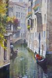 Fototapete Kanal - Wasser - Historische Bauten