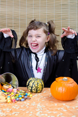 Vampirna zu Halloween