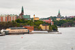 view on city, Danvikshem, Sofia Church in Stockholm