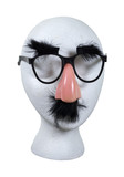 Anonymous Face with Glasses with Mustache and Eyebrows poster