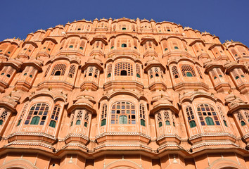 Palace of the Winds (Hawa Mahal) in Jaipur, India