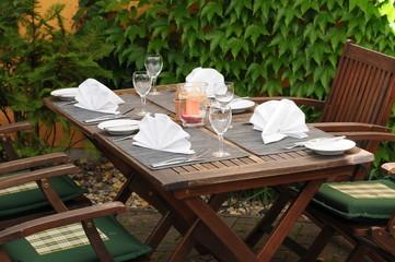 mediterran Essen - Tischdekoration
