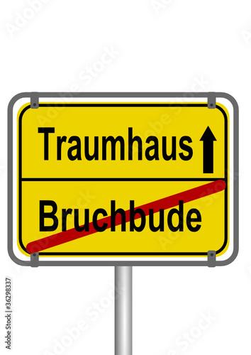 Traumhaus vs Bruchbude