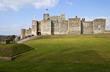 Dover Castle in Kent