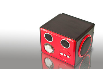 Speaker and MP3-player with USB