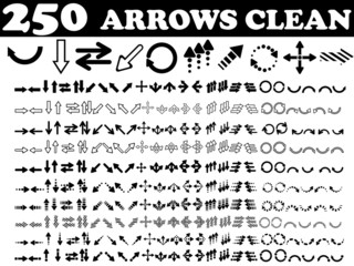 250 ICON PC ARROW CLEAN