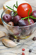 Olives and vegetables