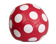 Red ball with white circles