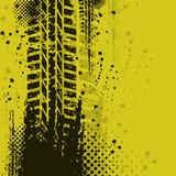 Fototapety Yellow background