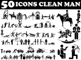 50 ICONS MAN AND WOMAN CLEAN VARIOUS
