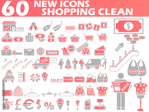 50 NEW ICONS SHOPPING CLEAN