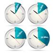 Timer Iconset 5 bis 20 min.