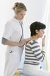 Femme - examens respiratoires