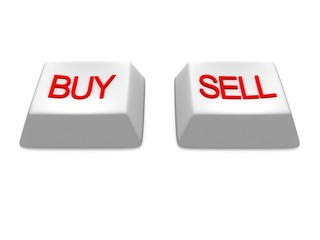 buy and sell white buttons keys
