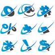 Swoosh Symbols Set5