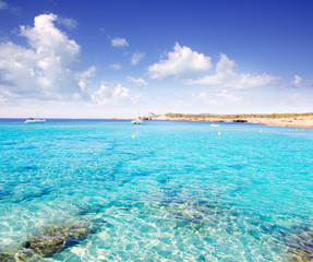 Cala Conta in Ibiza island near San Antonio