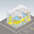 Care Home Isometric