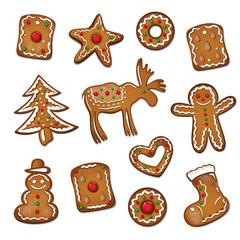Lebkuchen, Spekulatius, Nikolaus, Weihnachten