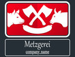 Metzgerei - Firmenlogo