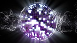 Particle and Disco Ball - HD1080