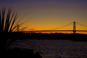 Sunset by Bridge
