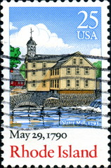 May 29, 1790, Rhode Island. US Postage.