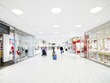 Leinwandbild Motiv Shopping Mall