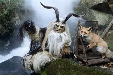 Dämon mit Fuchs