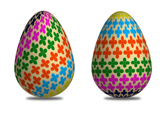 two egg easter