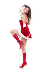 Santa dances