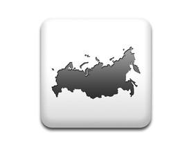 Boton cuadrado blanco silueta Rusia