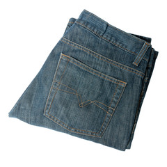 jeans isolated