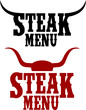 Steak Menu logo