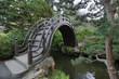 Wooden Bridge at Japanese Garden in San Francisco 2