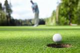 Fototapeta golf - zielony - Zabawa